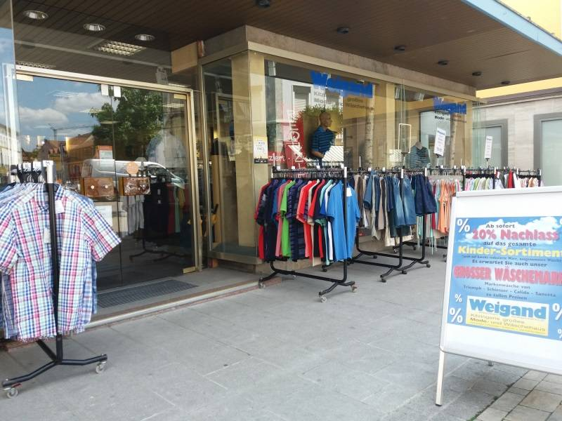 Shoppen in Kitzingen